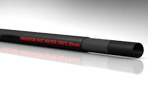 tubo in gomma per acqua calda
